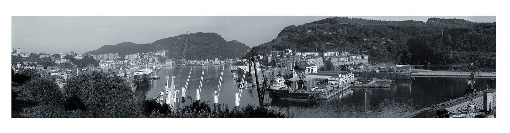 Panorama puerto pasaia