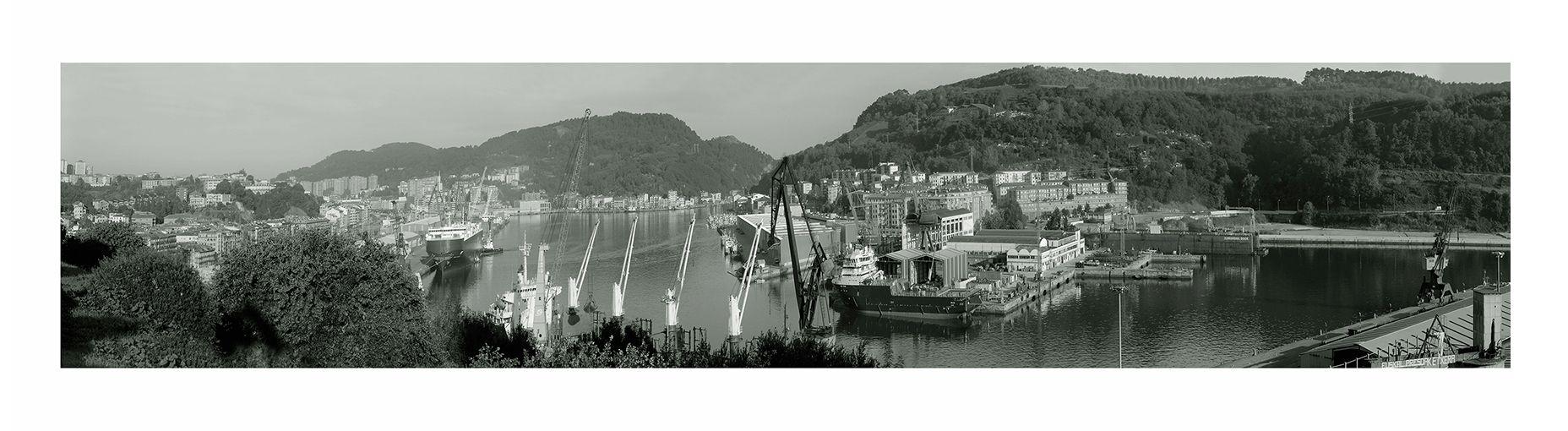 panoramica puerto pasaia