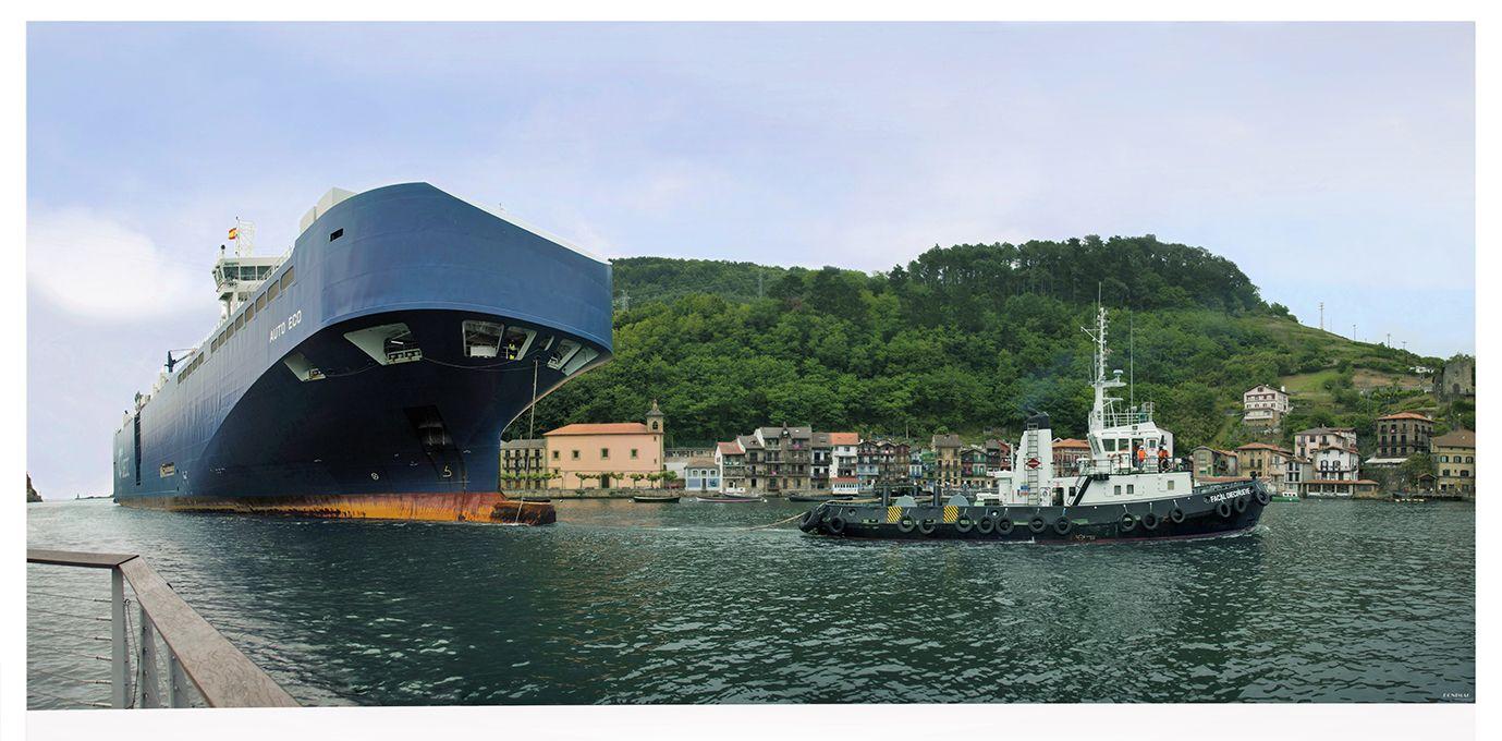 barco bahia de pasaia